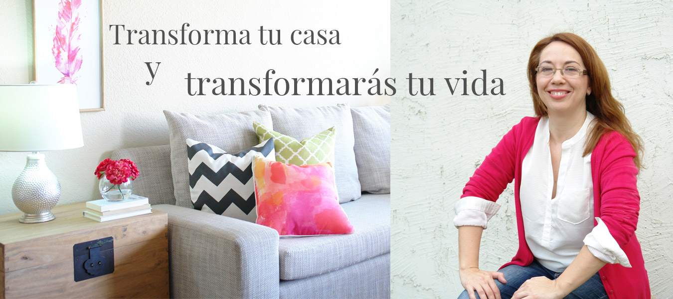 transforma tu casa transforma tu vida Noelia Ünik Designs decor coach