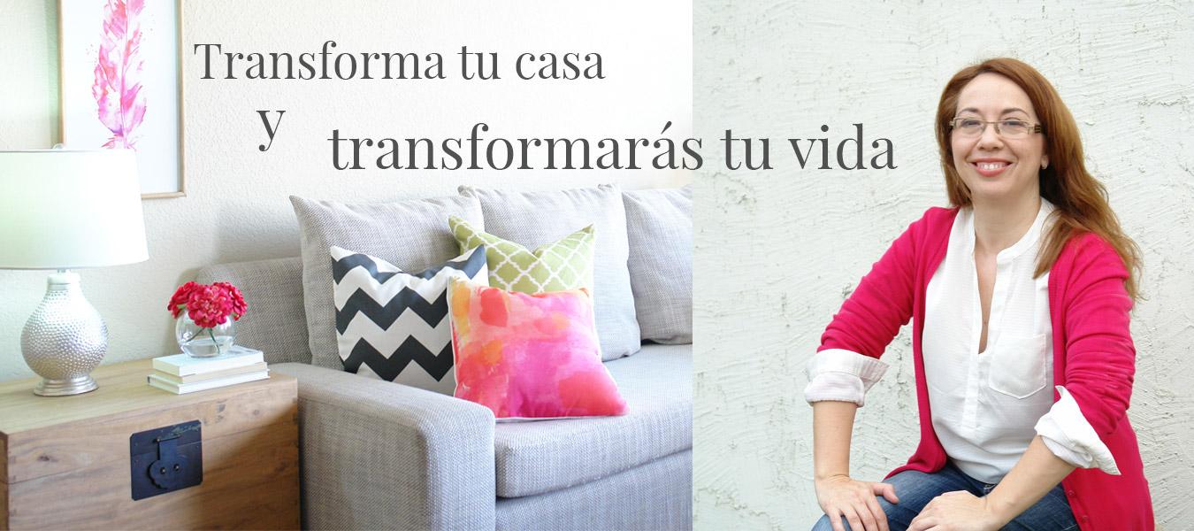 transforma tu casa transforma tu vida Noelia Ünik Designs decor coach