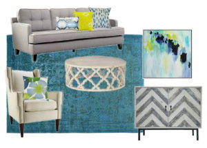 2 moodboard living room blue and lime noelia ünik designs