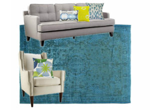 5 moodboard living room blue and lime noelia ünik designs