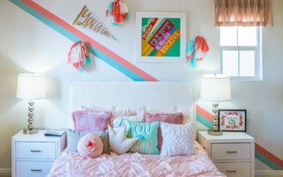 Ideas originales que convertir la habitación de tus hijos en una escuela improvisada.