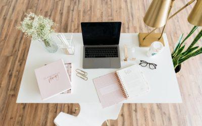 6 Tips esenciales para organizar una oficina en casa